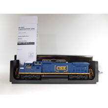 Atlas HO Chessie Heritage Decal Dash 8-40CW #7765 Diesel Loc & Sounds #10003138 #TOTES1