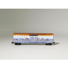 Brand New Micro-Trains Z Scale Pearl Harbor Railbox Graffiti Boxcar #51044016 #TOTES1