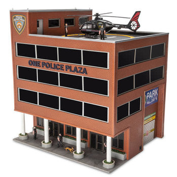 Menards O Scale One Police Plaza # 2794435