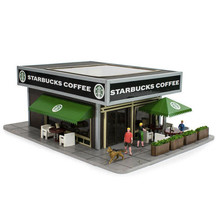 Menards O Scale Starbucks® Coffee Shop  # 2794325