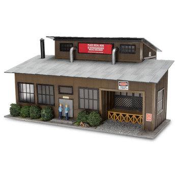 Menards O Scale Trackside Building #2794452