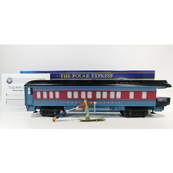Lionel O The Polar Express™ Skiing Hobo Observation Car (Black Roof) #2027800 #TOTES1
