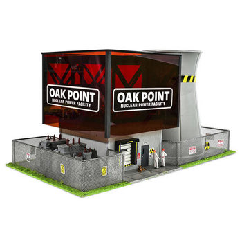 Menards O Scale Oak Point Nuclear Power Facility #279-4433