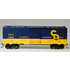 Bachmann HO Chesapeake & Ohio  40' Steel Boxcar # 16002