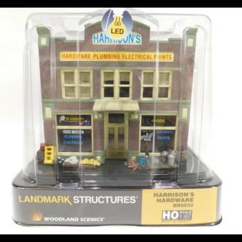 Woodland Scenics HO Harrison's Hardware # BR5022 #TOTES1