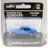 Woodland Scenics HO Scale Blue Sedan # AS5363