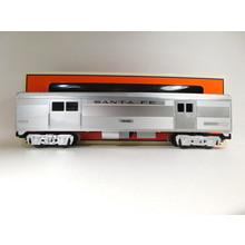 Lionel O Gauge  Santa Fe Add-On Baggage Car #6-84724