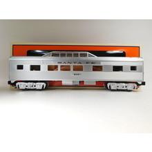 Lionel O Gauge Santa Fe Add-On Vista Dome Car #6-84725