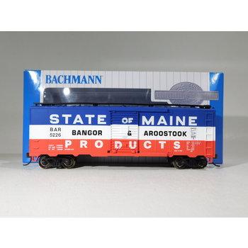 Bachmann HO Scale Bangor & Aroostook 40' Steel Boxcar #17038
