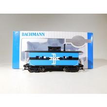Bachmann HO Scale Boston & Maine Steel Caboose #16818