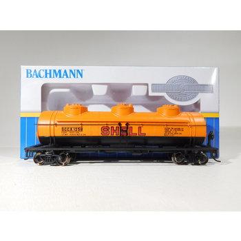 Bachmann HO Scale Shell Three-Dome Tank Car #17107