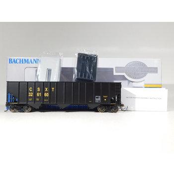 Bachmann HO Scale CSX Bethlehem Steel 100 Ton 3 Bay Hopper #18705
