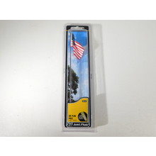 Woodland Scenics US Flag Pole Large with Lights #JP5952