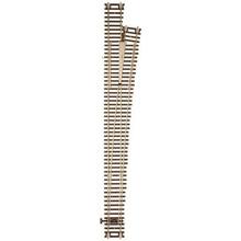 Atlas Code 83 Custom-Line(R) Mark IV Turnout w/Nickel-Silver Rail & Brown Ties -- #8 Right Hand # 566
