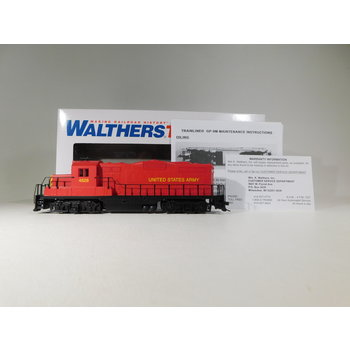Walthers HO Scale US Army GP9M Diesel Locomotive #931-458