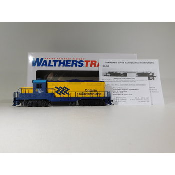 Walthers HO Scale Ontario Northland GP9M Diesel Locomotive #931-456