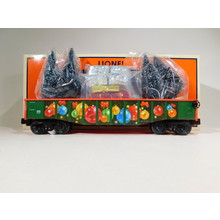 Lionel O Gauge Angela Trotta Thomas Christmas Gondola with Trees and Presents #2028340