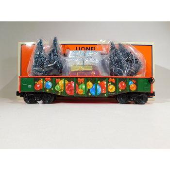 Lionel O Gauge Angela Trotta Thomas Christmas Gondola with Trees and Presents #2028340