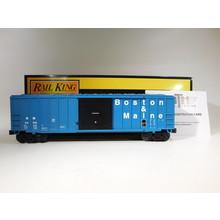 MTH O Gauge Boston & Maine 50' Modern Box Car #30-71011