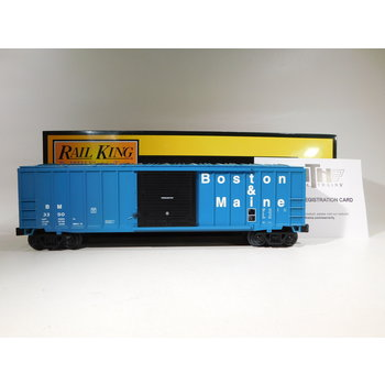MTH O Gauge Boston & Maine 50' Modern Box Car #30-71011
