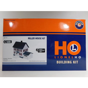 Lionel HO Scale Miller House Kit #1967170 #TOTES1