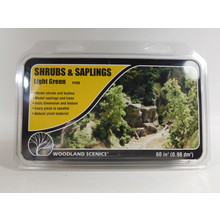 Woodland Scenics Shrubs & Saplings Light Green  #F1128 #TOTES1