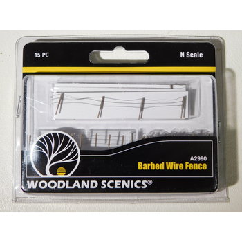 Woodland Scenics N Scale Barbed Wire Fence #A2990 #TOTES1