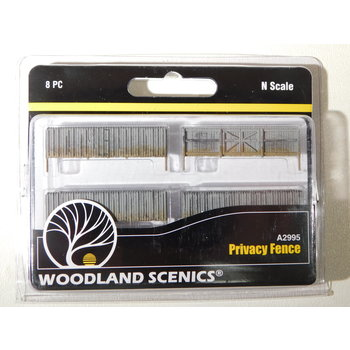 Woodland Scenics N Scale Privacy Fence #A2995 #TOTES1