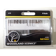 Woodland Scenics N Scale Rail Fence #A2992 #TOTES1