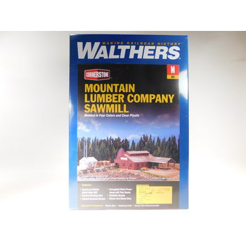 Walthers N Scale Mountain Lumber Company Sawmill #933-3236 #TOTES1