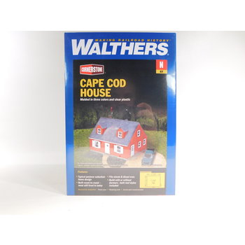 Walthers N Scale Cape Cod House #933-3839
