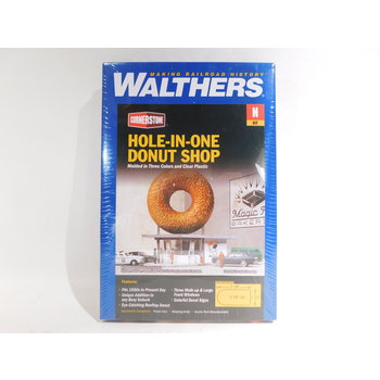 Walthers N Scale Hole-In-One Donut Shop #933-3835 #TOTES1