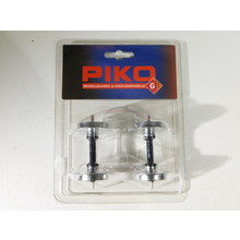 PIKO G Scale Metal Wheelset: 30mm, Plated, 2 Pcs #36164 #TOTES1