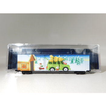 Micro-Trains Line N Scale Micro-Mouse 2020 Christmas Boxcar #102 00 150