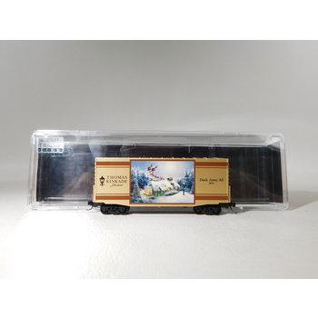 Micro-Trains Line N Scale Thomas Kinkade Dash Away All Boxcar #101 00 833