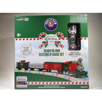 Lionel O LionChief Lionel Junction Christmas Set w/Illuminated Tracks # 2023070