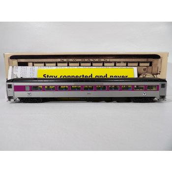Rapido HO Scale MBTA Pullman Bradley 8600-Serie Coach #2521 # 17245