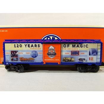 Lionel O 2020 Train Day Boxcar # 2028620
