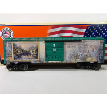 Lionel O Gauge Kinkade Christmas Boxcar #6-83163