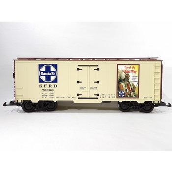 "Piko G Santa Fe ""Travel the Chief Way"" Steel Reefer # 38886 # TOTE1"