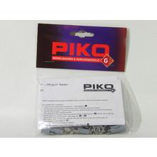 PIKO Metal Crankpins - 45mm Mogul Wheels (Set of 6) # 36091