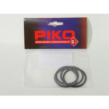 PIKO G Traction Tire Mogul & V60 4 Pcs # 36040