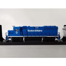 Atlas HO DCC & Sounds Boston & Maine GP40-2 Diesel # 308  locomotive  # 10003481