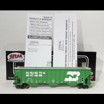 HO Burlington Northern #448441 Covered Hopper Cars # 20005457