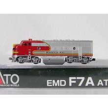 Kato Trains Kato N scale Dc Santa fe # 300 F7A  # 176-2121
