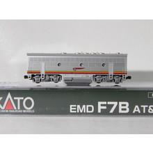 Kato Trains Kato N scale Dc Santa fe f7B Unit  # 176-2211