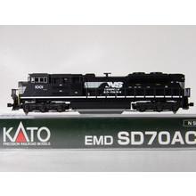 Kato Trains Kato N Scale Dcc Norfolk Southern EMD SD70Ace  # 176-8513