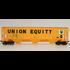 Atlas HO Union Equity #60610 Covered Hopper Cars # 20005470