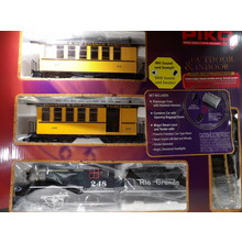 PIKO G D&RGW Pass R/C Starter Set w/Sound, 120V # 38112