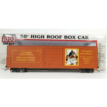 Pre-owned Norman Rockwell 50' Freedom from want Boxcar #085885